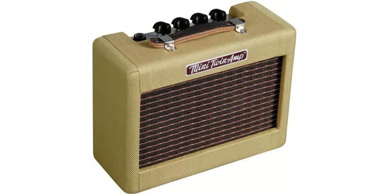 fender mini 57 twin battery powered guitar amp. Black Bedroom Furniture Sets. Home Design Ideas