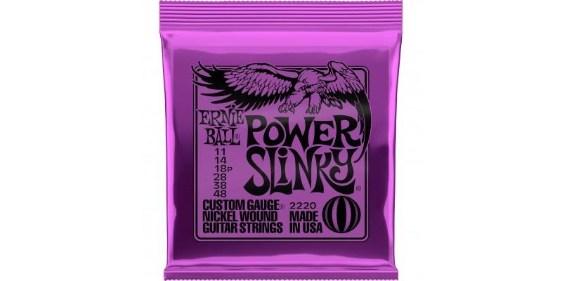 2220 Ernie Ball Power Slinky Guitar Strings