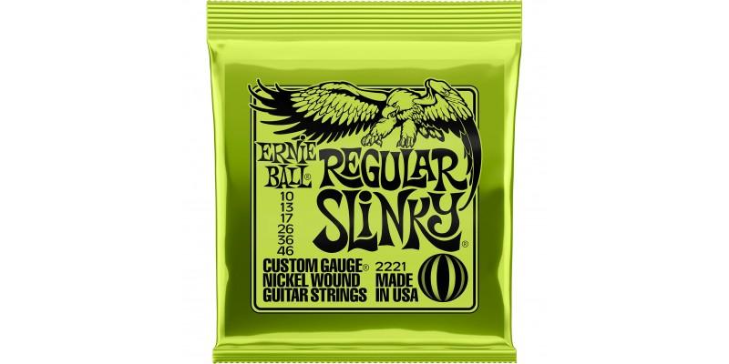 2221 Ernie Ball Regular Slinky Guitar Strings
