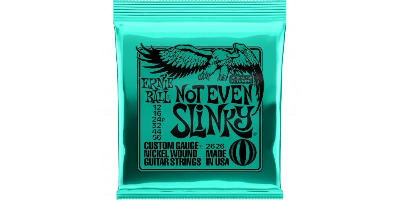 2626 Ernie Ball Not Even Slinky Guitar Strings
