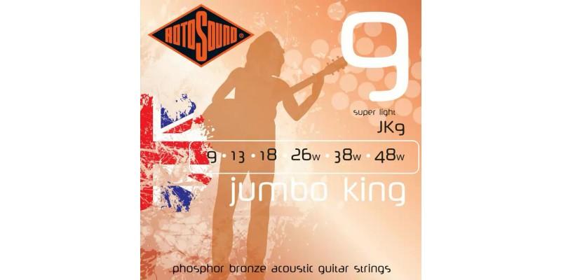 Rotosound JK9 Jumbo King 9-48