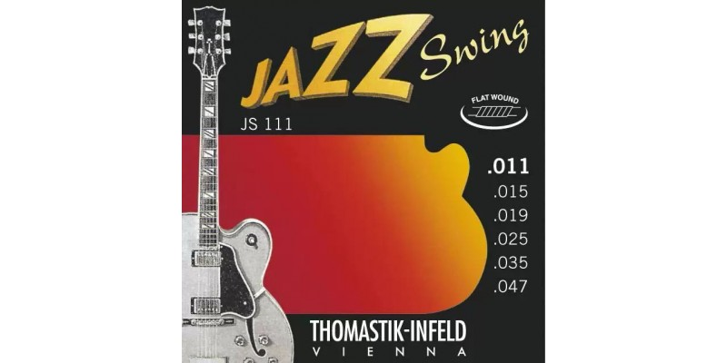 thomastik infeld js111 light flatwound jazz swing electric guitar strings 11 47 merchant city. Black Bedroom Furniture Sets. Home Design Ideas