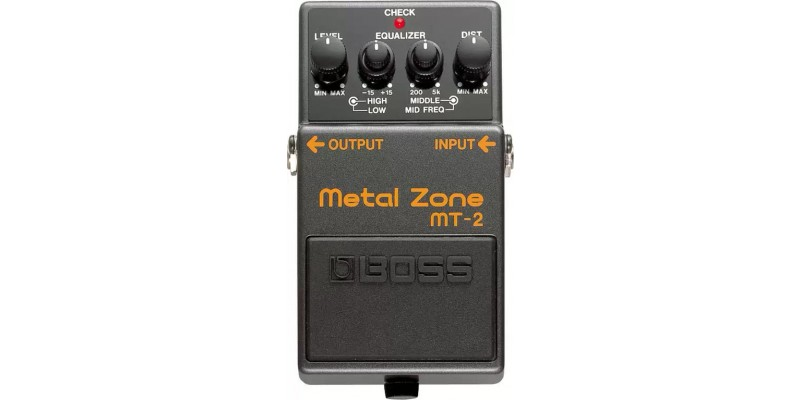 BOSS MT-2 Metal Zone Guitar Effects Pedal