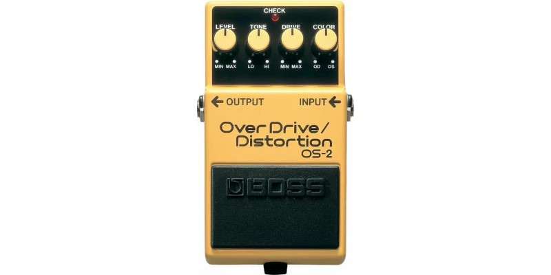 BOSS OS-2 OverDrive-Distortion Pedal