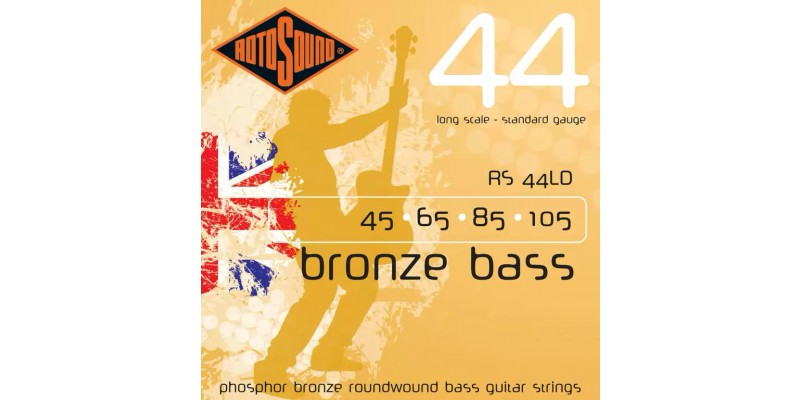 Rotosound RS44LD Bronze Acoustic Bass Strings 45-105