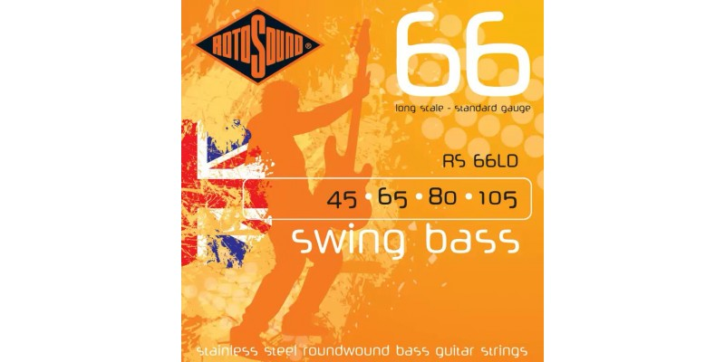 Rotosound RS66LD Swing Bass 66 4 String Set 45-105