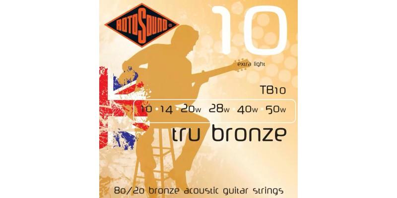 Rotosound TB10 Tru Bronze 10-50