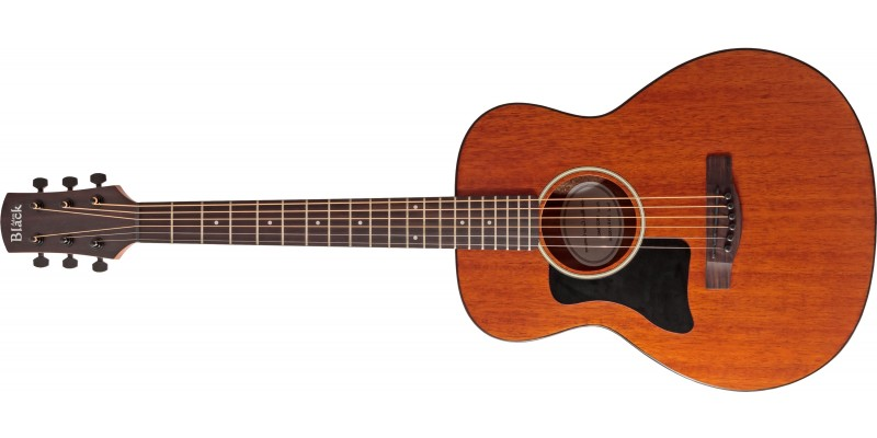 Adam Black 0-2TLH Left Handed Travel Guitar