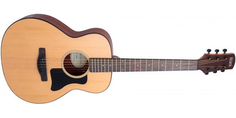 Adam-Black-O-3TE-Travel-Electro-Acoustic-Guitar-Front
