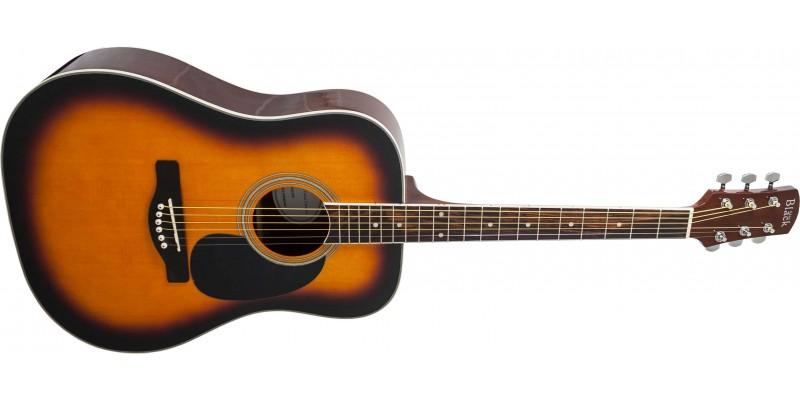 Adam Black S2 Brown Sunburst Acoustic Guitar