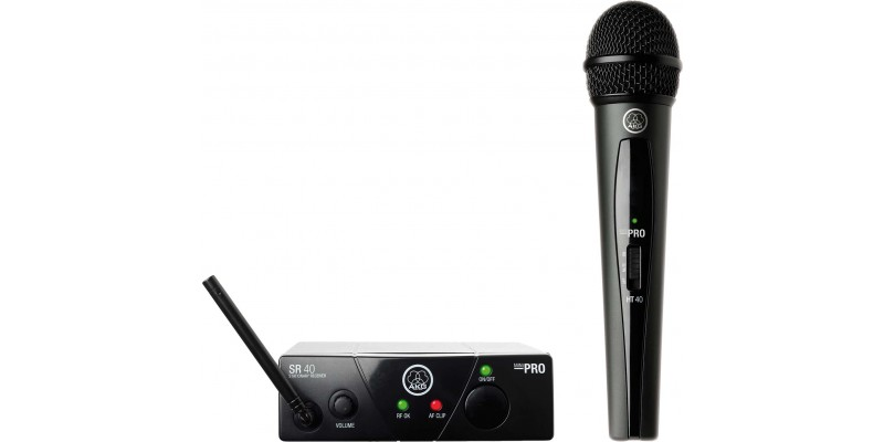 AKG WMS40 Mini Single Vocal Set Wireless Microphone