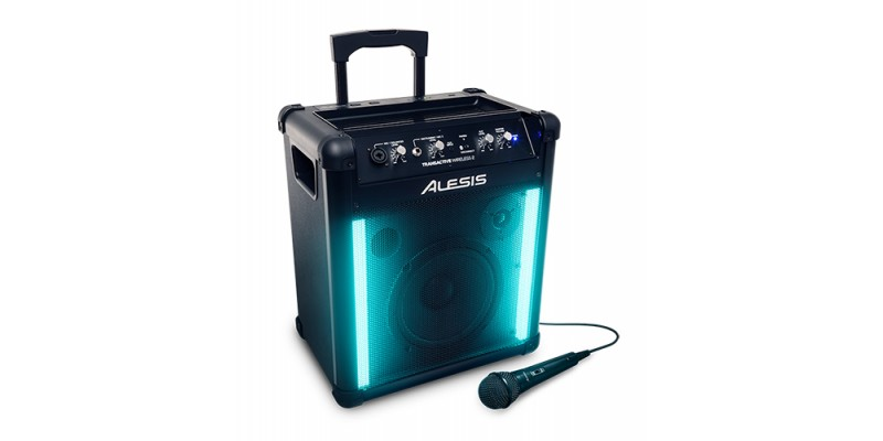 Alesis TransActive Wireless 2 Bluetooth Speaker with Lights