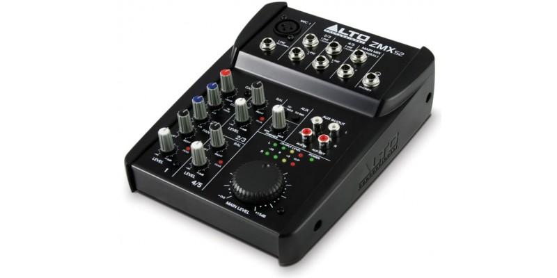 Alto Zephyr ZMX52 Compact Mixer