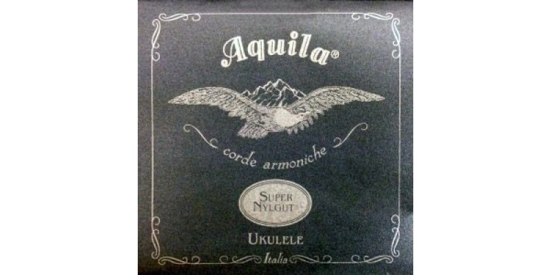 Aquila Super Nylgut Ukulele Strings 104U Concert Low G