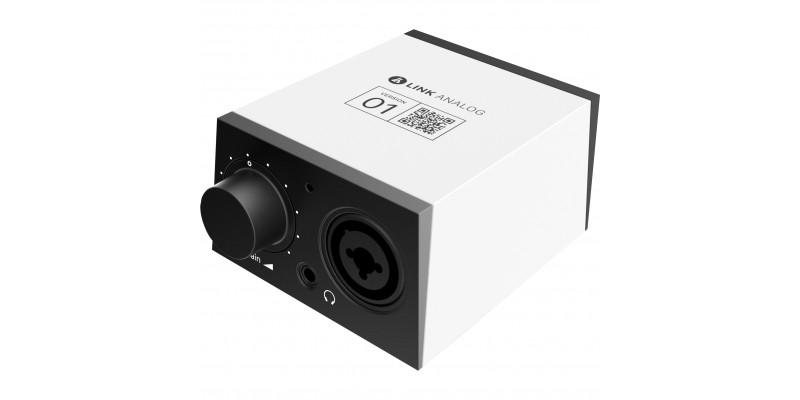 BandLab Link Analog Audio Interface Front