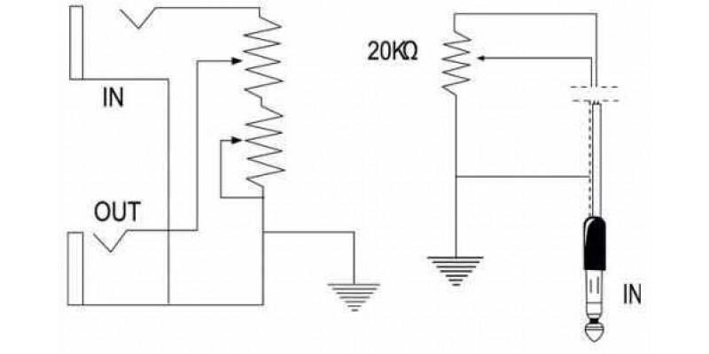 bespeco volume pedal vm13zum