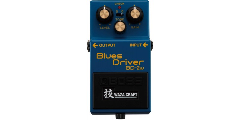 Boss BD-2W Waza Craft Blues Driver Special Edition