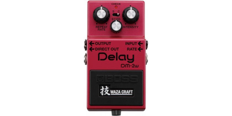 Boss DM-2W Waza Craft Delay Special Edition