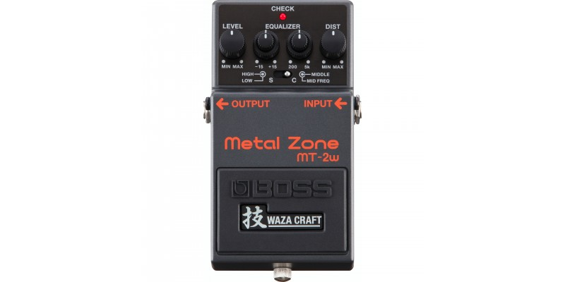 BOSS-mt-2w-Waza-Craft-Metal-Zone-Front