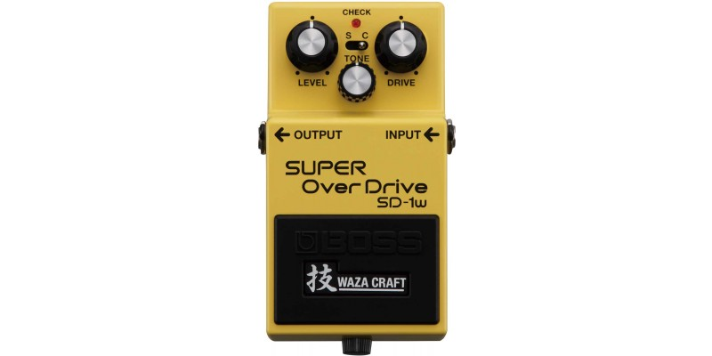 Boss SD-1W Waza Craft Super Overdrive Special Edition