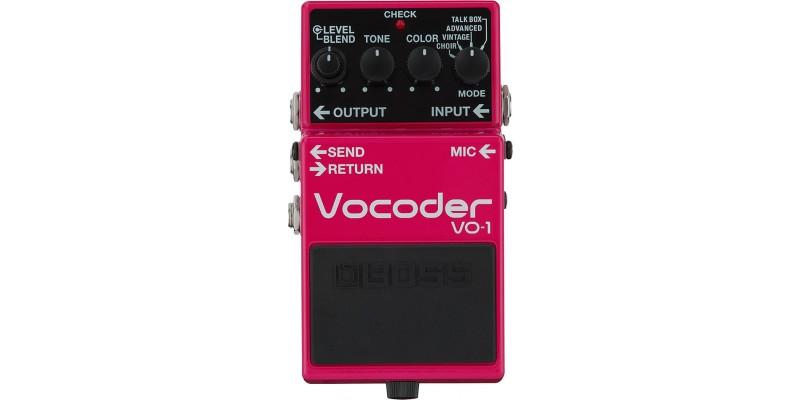 BOSS VO-1 Compact Vocoder Pedal