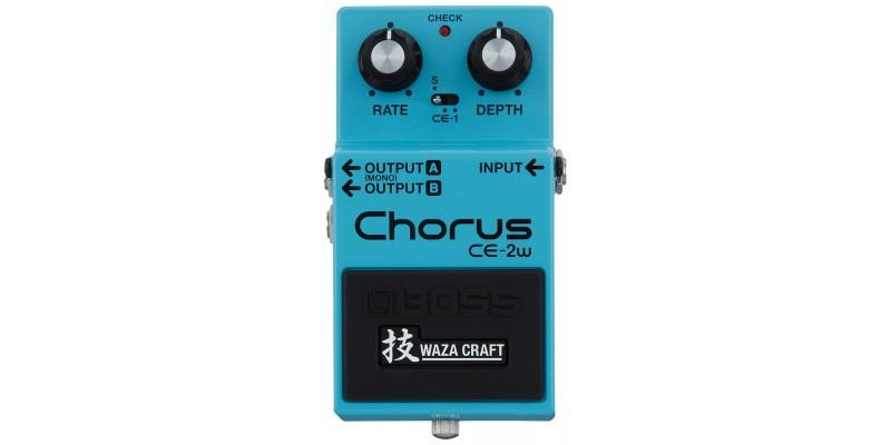 BOSS CE-2W Waza Craft Chorus Pedal Front