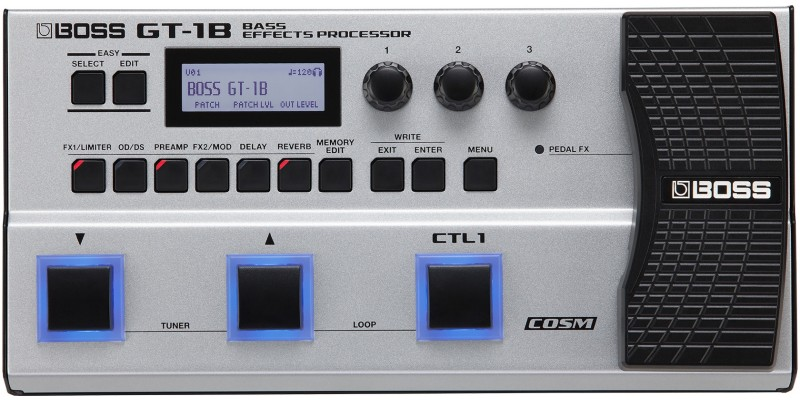 Boss GT-1B Bass Multi Effect Processor