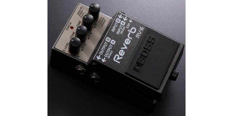 boss rv 6 reverb effects pedal. Black Bedroom Furniture Sets. Home Design Ideas