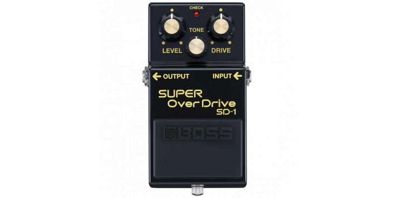 BOSS SD-1-4A LTD 40th Anniversary SD-1 Super Overdrive Front