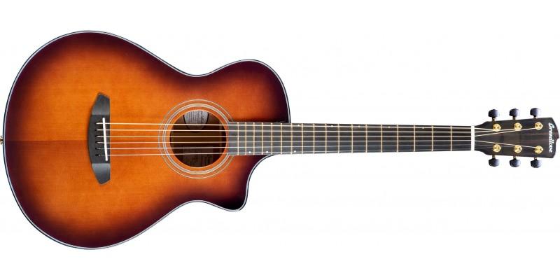 Breedlove-Performer-Concertina-Bourbon-CE-Torrefied-European-African-Mahogany-Front