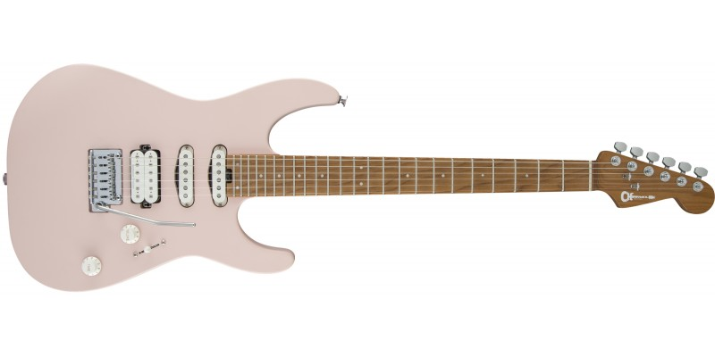 Charvel-Pro-Mod-DK24-2PT-CM-Shell-Pink-Front