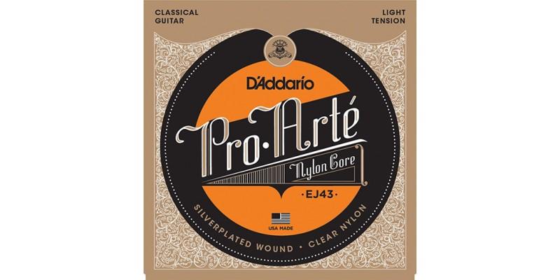 D'Addario EJ43 Pro-Arte Nylon, Light Tension Strings
