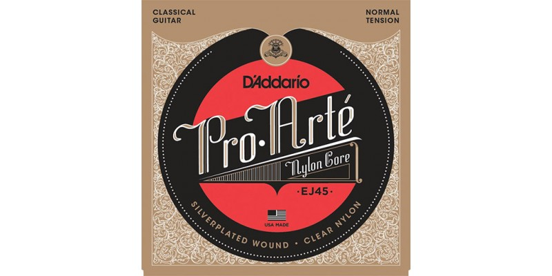 D'Addario EJ45 Pro-Arte Nylon, Normal Tension Strings