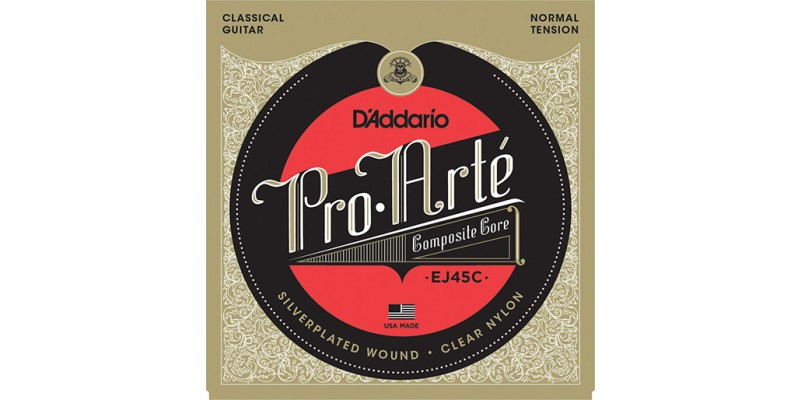 D'Addario EJ45C Pro-Arte Composite, Normal Tension Strings