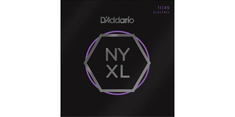 D'Addario NYXL strings for electric guitar NYXL1149