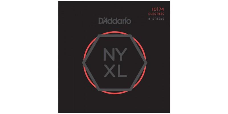 D'Addario NYXL1074 8 String Guitar Strings