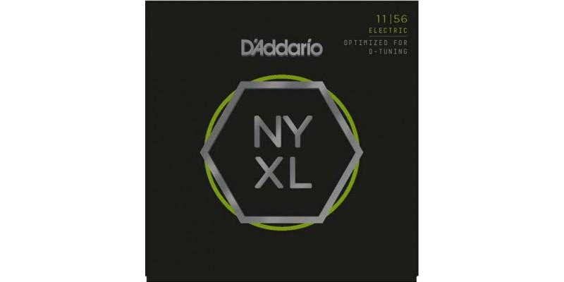 D'Addario NYXL1156 Medium Top Extra-Heavy Bottom Guitar Strings