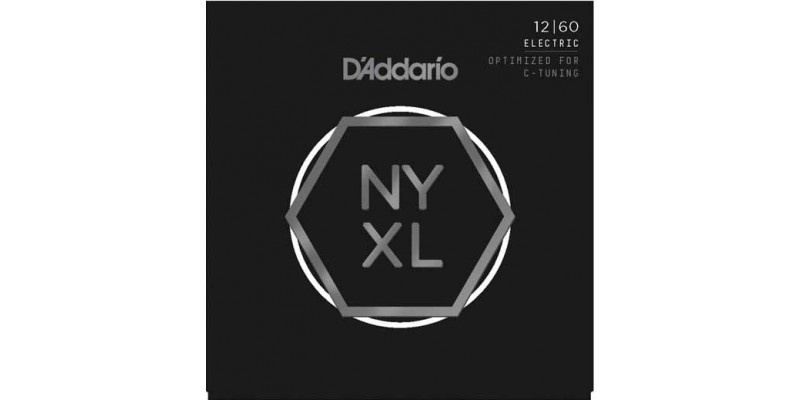 D'Addario NYXL1260 Nickel Wound Extra Heavy Guitar Strings
