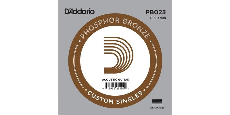 D'Addario PB023 Acoustic Phosphor Bronze String