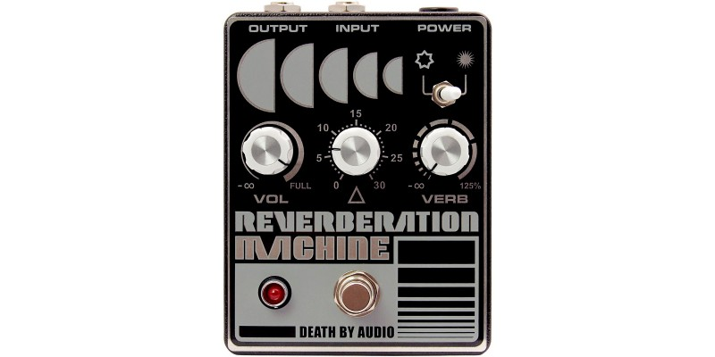 Death By Audio Reverberation Machine Front