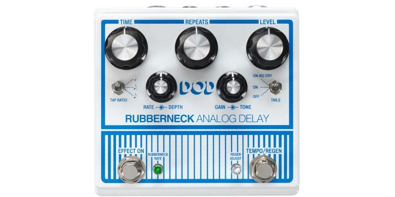 DOD Rubberneck Analog Delay Pedal