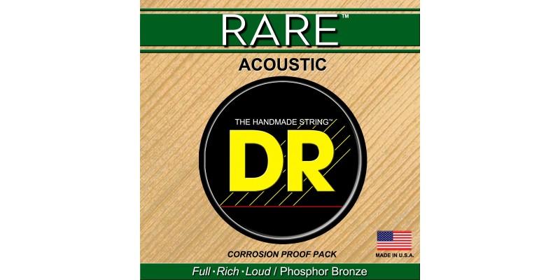 DR Strings RPM-12 Rare Acoustic Guitar Strings Phosphor Bronze Light 12-54 Front