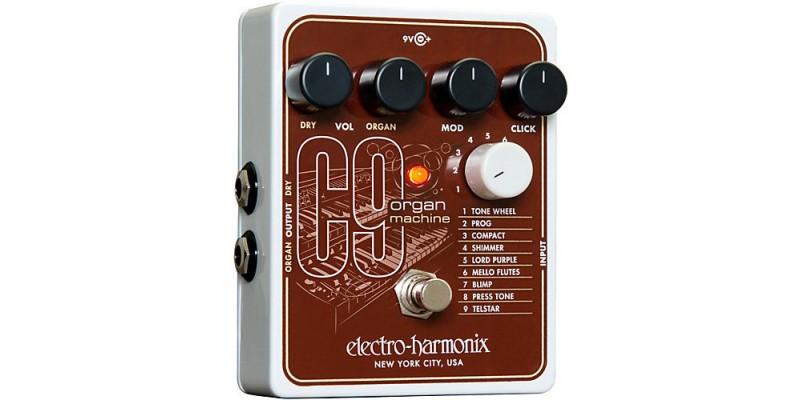Electro Harmonix C9 Organ Machine Guitar Pedal