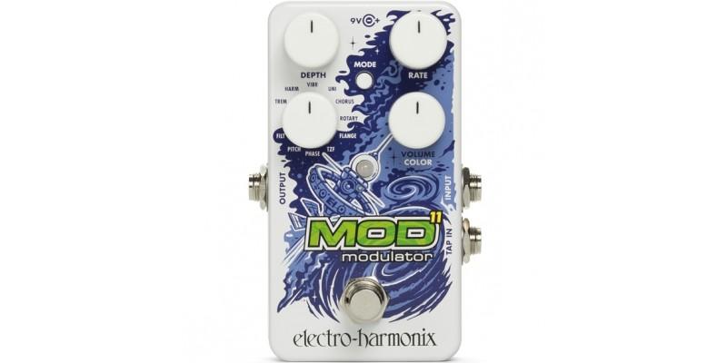 Electro Harmonix Mod 11 Modulation Pedal Front