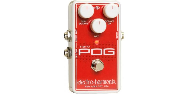 Electro Harmonix Nano POG Guitar Pedal