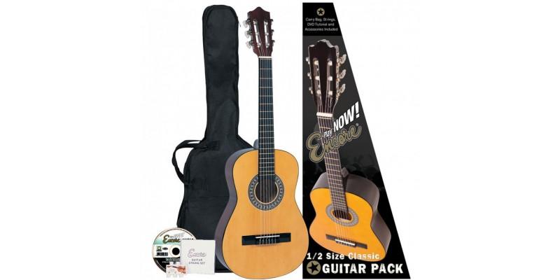 Encore 1 2 Size Classical Guitar Pack Natural Guitar Co Uk