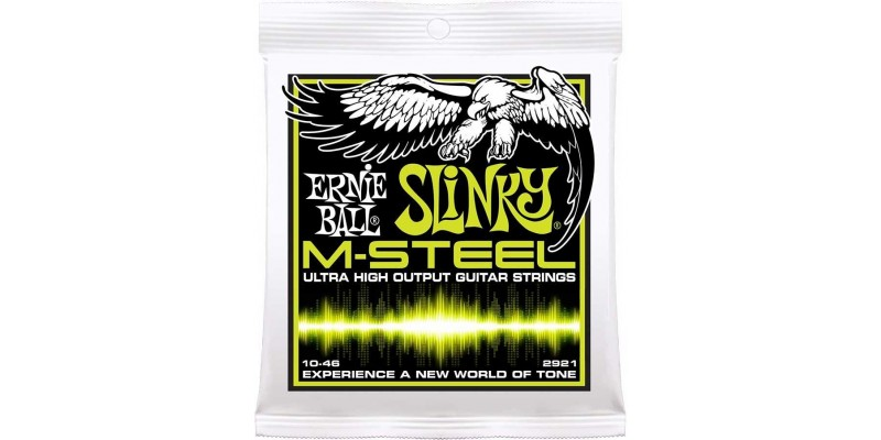 Ernie Ball M-Steel Regular Slinky Electric Guitar Strings