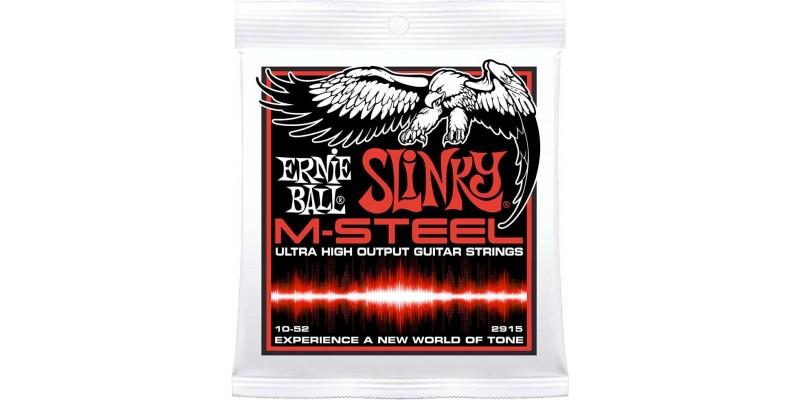 Ernie Ball M-Steel Skinny Top Heavy Bottom Electric Guitar Strings