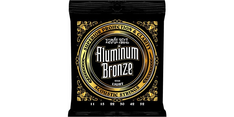 Ernie Ball Aluminium Bronze Strings Light 11-52