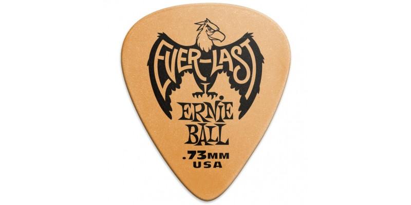 Ernie Ball Everlast Picks Orange .73mm Bag Of 12 Main
